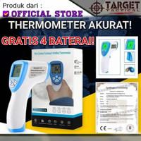 Thermometer D-19 Alat Ukur Suhu Tubuh Portabel Infrared Tanpa Kontak