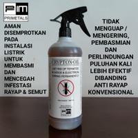 CRYPTOX OIL obat anti rayap / termite untuk kayu & instalasi listrik