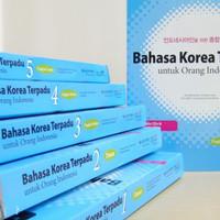 Buku Latihan Bahasa Korea Terpadu Untuk Orang Indonesia Jilid 1-6 + CD