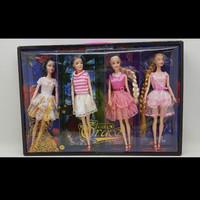 Mainan Boneka Barbie isi 4