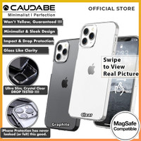 Original Caudabe Lucid Clear Case iPhone 12 Pro Max 12 Pro 12 12 Mini