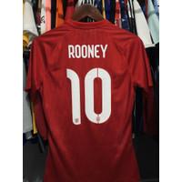 Jersey Original England Inggris Away Player P2R Issue 2014 #10 ROONEY