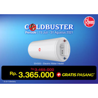 EHG 50 | Water Heater Rheem 50 Liter (500 W)
