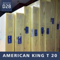 American T20 Foam Mattress D28 [KHUSUS MALANG]