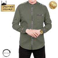 Baju Koko Pria Lengan Panjang Terbaru 2021 SULTAN TOJIRO ARS 23355