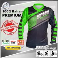 Baju Jersey Sepeda MTB Baju Sepeda Pria Kaos Motor Racing Cross