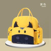 Ransel Diapers Bag Baby Traveler Karakter Sapi - Kuning