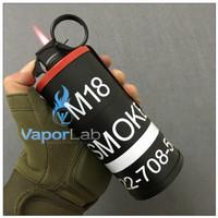 asbak plus korek api model granat bomb shape ashtray lighter unik lucu