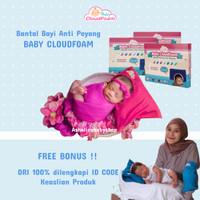 Bantal Anti Peyang Baby CloudFoam ORIGINAL 100% - Free Gift