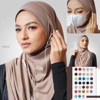 PREMIUM - Jilbab Instan Hijab Kerudung Khimar Bergo   Medina Instant