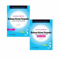 Buku Latihan Bahasa Korea Terpadu Untuk Orang Indonesia Jilid 5 + CD