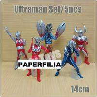 set ultraman 14 cm Zero Leo Ace Tiga Zoffy 3 bandai vinyl ultra act 00
