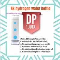 kk hydrogen water bottle - harga DP 1jt