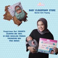Baby CloudFoam ASLI 100% - Bantal Bayi Anti Peyang