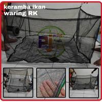 jaring keramba ikan bahan kasa/waring anti geser ukuran costum