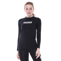 Tiento Baselayer Rashguard Manset Olahraga Wanita Long Sleeve Freedive