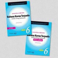 Buku Latihan Bahasa Korea Terpadu Untuk Orang Indonesia Jilid 6 + CD