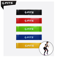 SFIDN FITS 1 SET Resistance Band Yoga / Olahraga / Aerobic / Senam - Basic