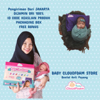 Baby CloudFoam ORIGINAL - Bantal Terapis Anti Peyang