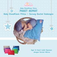 PAKET HEMAT Baby CloudFoam ORi 100% + Sarung bantal tambahan