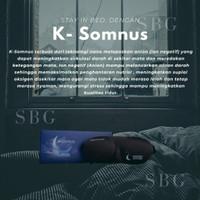 K-Somnus merupakan masker penutup mata yang mengandung ion negatif