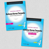 Buku Latihan Bahasa Korea Terpadu Untuk Orang Indonesia Jilis 4 + CD