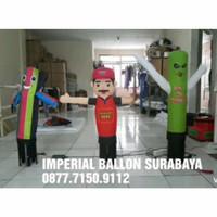 balon sky dancer mini ukuran 6inch