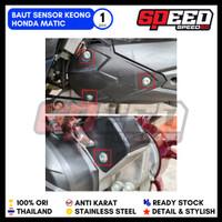 Baut Sensor Keong Vario Beat Scoopy Honda Probolt Gold Blue Silver