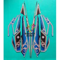stiker striping motor yamaha nouvo z neo edition hitam-biru