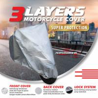 Cover Motor Premium Honda Revo X 3 Layers Waterproof Outdoor
