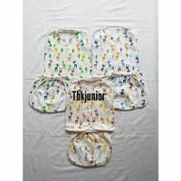 Baju setelan bayi lengan buntung/baju bayi/setelan bayi SNI
