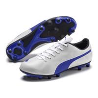 Sepatu Bola PUMA Rapido FG White Blue 104798 06