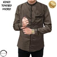 Baju Kemeja Koko Muslim Pria Terbaru 2021 TOYOBO MICRO ARS 22545 - Coksu, M