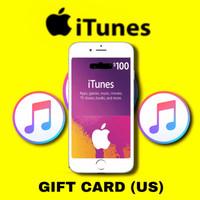 Apple itunes gift card us 10 25 100$ usd