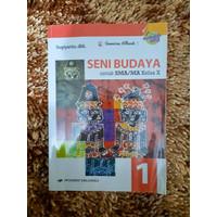 Buku Bekas SMA Kelas X/10 SENI BUDAYA Kurikulum 2013 Erlangga
