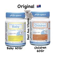 Lifespace Probiotic Baby Powder Children 60gr life space Ori Aus - BABY 60GR