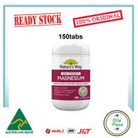 Natures Way High Strength Magnesium 600 mg 150 Tabs