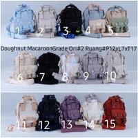 Ransel doughnut mini / backpack / tas punggung / tas travel donat mini