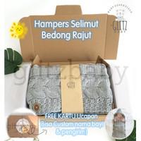 Hampers Baby Kado Lahiran Gift Set Glitz Baby Selimut Bedong Instan