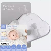 Choc Chick Memory Foam Baby Pillow Bantal Tidur Anak Bayi Anti Peang - Elephant