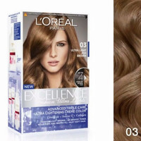 Loreal Excellence Fashion Ultra Lights - 03 Ash Brown