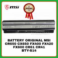 Baterai Original Laptop MSI BTY-S14 CR650 CX650 FX400 FX420 CR41 CR61