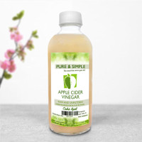 Pure and Simple Raw Unfiltered Cuka Apel