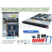 Ready Stock - 1U Rack Gigabyte Server - 64 Cores Epyc 7702 P - 32GB D4