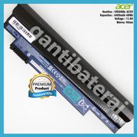 Original Baterai Acer Aspire One 722 522 D255 D260 D257 6cell - Hitam