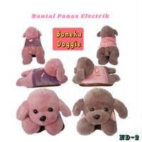 Bantal Panas Penghangat Terapi / Heating Pad / Hot Water Bag Boneka - PINK
