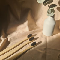 Sikat gigi bambu eco friendly/bamboo toothbrush