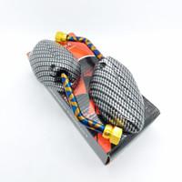 Kaca Spion Beat mini pendek Karbon Twotone Blue X buat motor honda