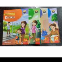 PAKET Buku SD Teks Tematik Terpadu Kelas 1 A B C D Yudhistira