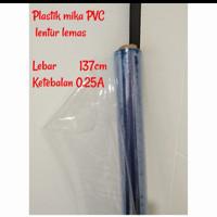 plastik mika lentur pembatas ruangan sekat ruangan tirai untuk virus